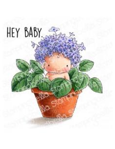 Sello Stampingbella Hydrangea Baby