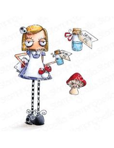 Sello Stampingbella Oddball Alice