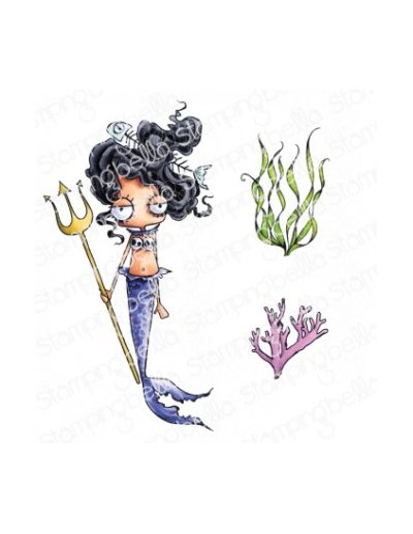 Sello Stampingbella Oddballs Mermaid