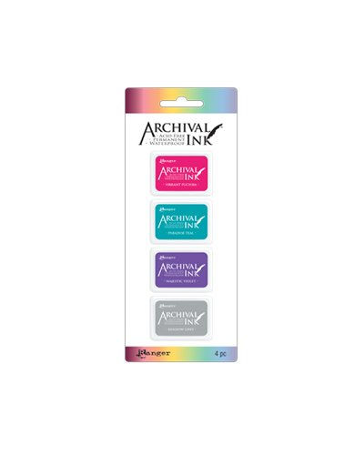 Tinta Mini Archival, Kit 4