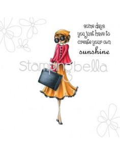 Sello Stampingbella Uptown Girl Sunny is Stylish