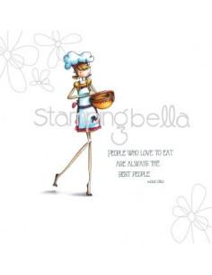 Sello Stampingbella Uptown Girl Chanel the chef