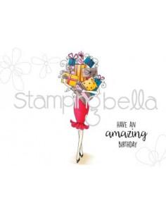 Sello Stampingbella Gift Abella
