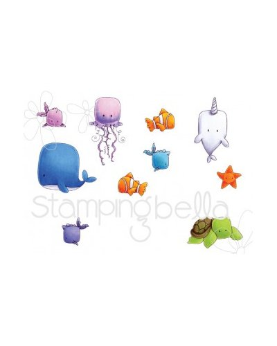 Sello Stampingbella Under the sea creatures