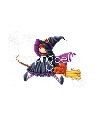 Sello StampingBella Tiny Townie Hattie loves Halloween