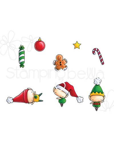 Sello Stampingbella Little bits Elves