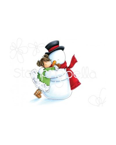 Sello StampingBella Tiny Townie Frida loves frosty