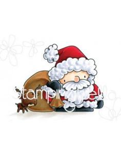 Sello Stampingbella Santa's loot
