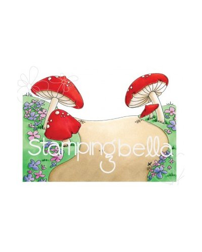 Sello Stampingbella Gnome Backdrop