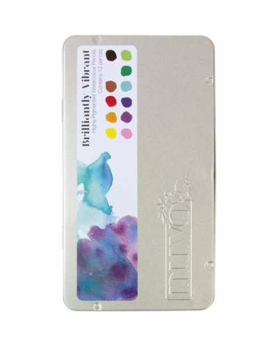 Nuvo Watercolour pencils, Brillantly vibrant