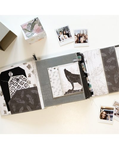 KIT MATERIAL scrapbook anual 2020