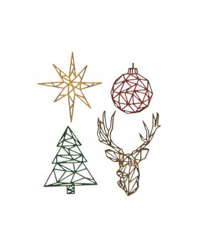 Thinlits Geo Christmas Tim Holtz