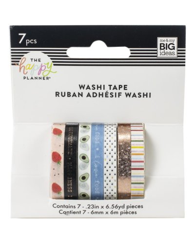 Washi tape Recipe happy planner