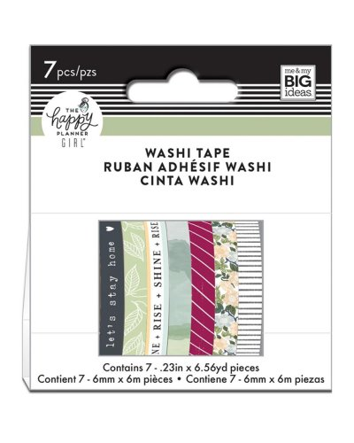 Washi tape Glam girl happy planner
