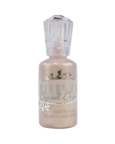 Nuvo Crystal drops Antique rose