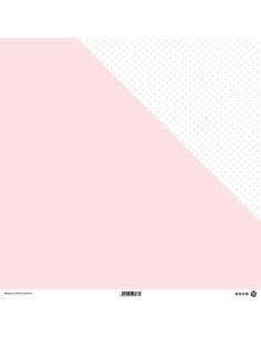 Papel topos Rosa pastel modascrap
