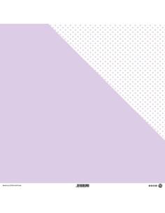 Papel topos Violeta pastel modascrap