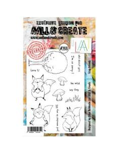 Sello Foxy friends Aall&Create