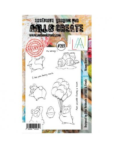 Sello Honey bears Aall&Create