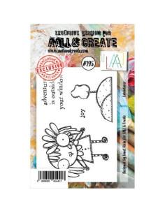 Sello Adventurer Aall&Create