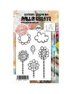 Sello Flowers & sunshine Aall&Create