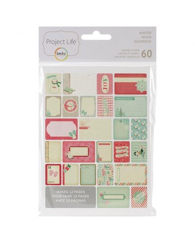 Project Life Card Winter