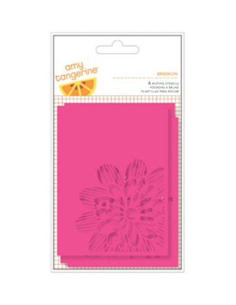 Pack 6 plantillas Amy tangerine