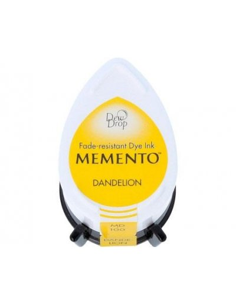 Tinta Memento Tuxedo dandelion