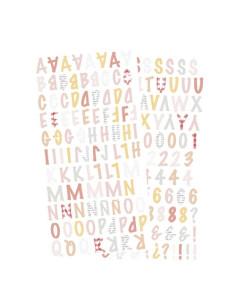 Pegatina abecedario picnic de Alúa Cid