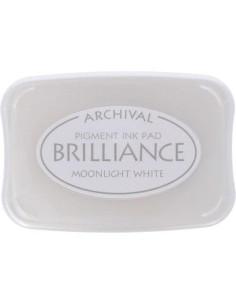 tinta brilliance color blanco luna