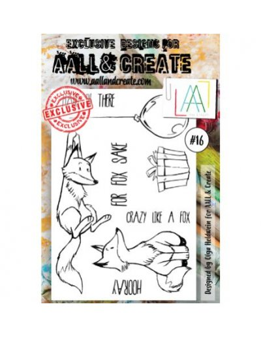 Sello Animal FOR fOX Sake Aall&Create