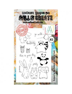 Sello Animal Hip Hop Hurray Aall&Create