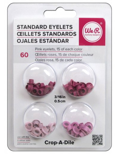 "Eyelets 3/16"" rosa"