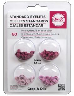 """WeR Eyelets 3/16"""" rosa"""