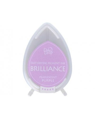 Tinta BRILLIANCE color morado perlado efecto nacarado