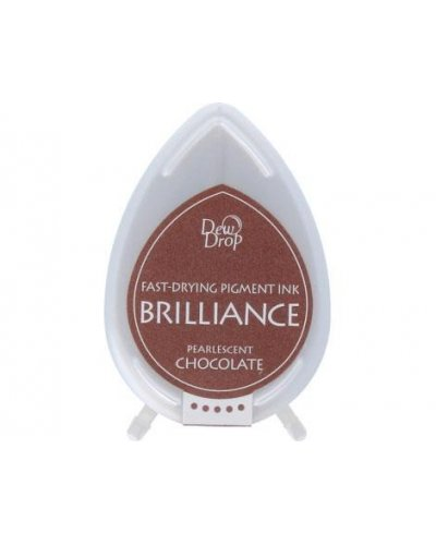 Tinta BRILLIANCE color chocolate perlado efecto nacarado