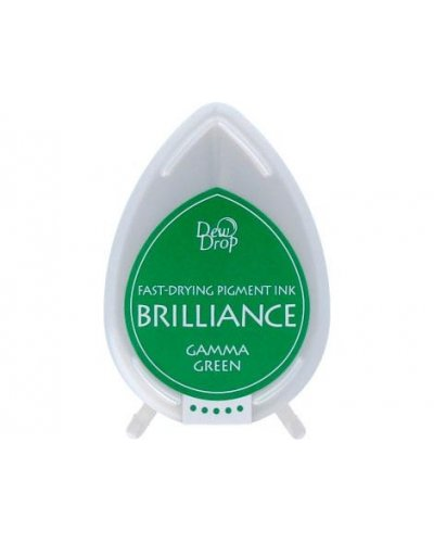 Tinta BRILLIANCE color verde brillante efecto nacarado