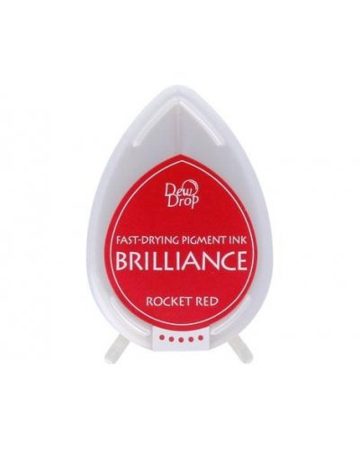 Tinta BRILLIANCE color rojo cohete efecto nacarado
