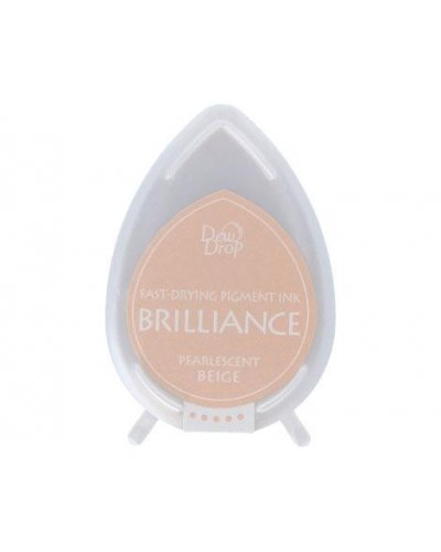 Tinta BRILLIANCE color beige perlado efecto nacarado