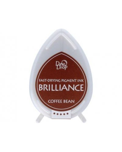 Tinta BRILLIANCE color grano de café efecto nacarado