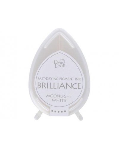 Tinta BRILLIANCE color blanco luna efecto nacarado