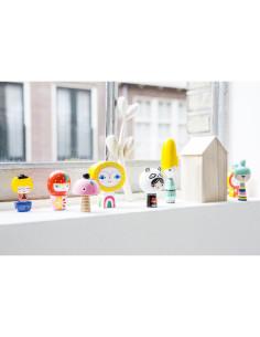 8 Figuras Mr Sun & Friends Petit Monkey