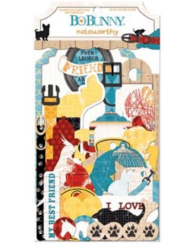 Happy Tails Noteworthy journaling cards