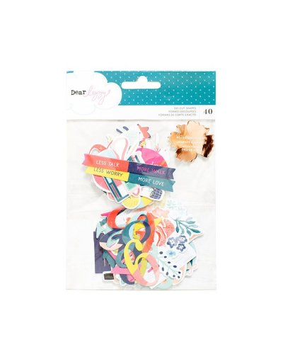 Lovely Day die cuts