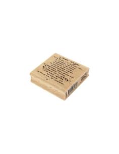 Sello madera palette deco
