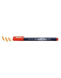 rotulador orange fudenosuke tombow