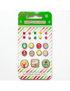 Happy Holidays clips