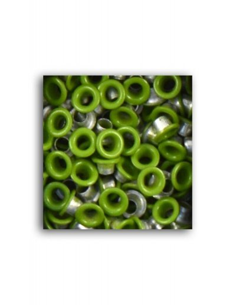 "Eyelets 1/8"" verde"