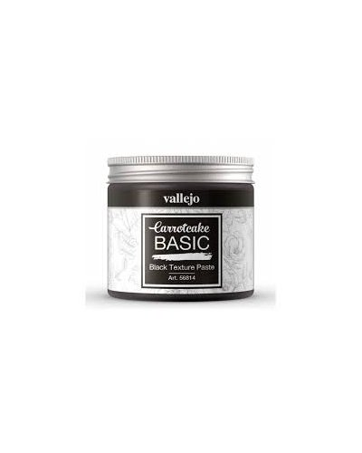 black texture paste de carrotcake