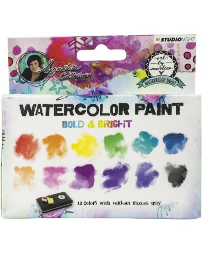 acuarelas watercolor bold & bright de by marlene